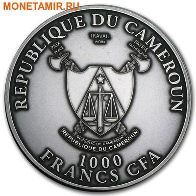 Камерун 1000 франков 2013.Леопард – Большая Африканская Пятерка.Арт.60 (фото, вид 1)