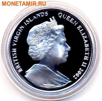Британские Виргинские Острова 10 долларов 2002. «11 сентября». (фото, вид 1)