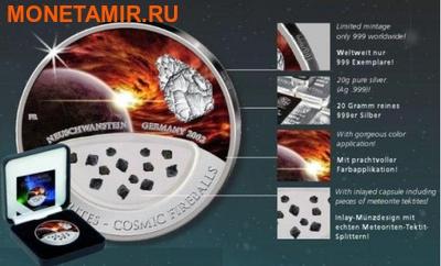 Фиджи 10 долларов 2012.Метеорит – Нойшванштайн (NEUSCHWANSTEIN) серия Космические шаровые молнии.Арт.000376941594 (фото, вид 2)