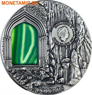 Ниуэ 2 доллара 2014. «Тайна дворца Пена» серия «Искусство кристаллов».Арт.001565549776 (фото, вид 1)