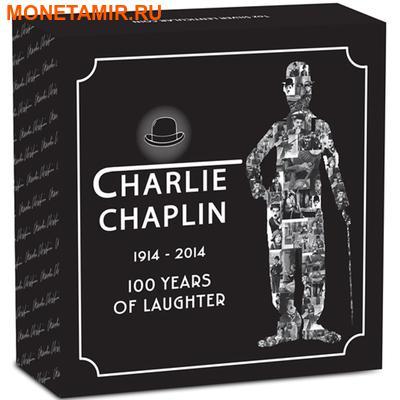 Тувалу 1 доллар 2014.Чарли Чаплин – 100-лет смеха.Арт.000173649140/60 (фото, вид 3)