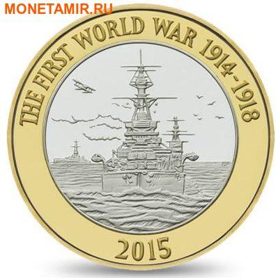 Великобритания Полный Годовой Набор 2015 (The 2015 UK Brilliant Uncirculated Annual Coin Set).Арт.60 (фото, вид 4)