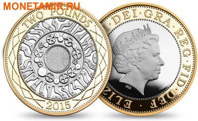 Великобритания Полный Годовой Набор 2015 (The 2015 UK Brilliant Uncirculated Annual Coin Set).Арт.60 (фото, вид 6)