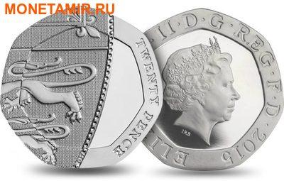 Великобритания Полный Годовой Набор 2015 (The 2015 UK Brilliant Uncirculated Annual Coin Set).Арт.60 (фото, вид 9)