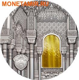 Палау 10 долларов 2015.Альгамбра - стиль Насридов серия Тиффани Арт. (фото, вид 1)