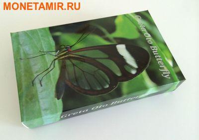 Палау 10 долларов 2014.Бабочка Грета Ото серия Животные в стекле.Арт.000700350077 (фото, вид 3)