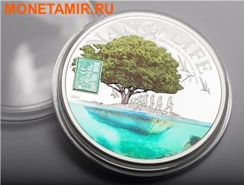 Острова Кука 10 долларов 2015.Нано Жизнь – Нанотехнологии. (фото, вид 1)