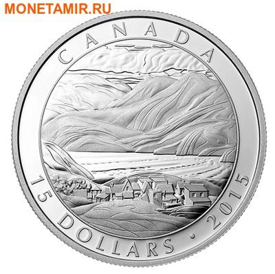 Канада 3х15 долларов 2015.Франклин Кармайкл – картины. (фото, вид 1)