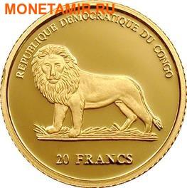 Конго 20 франков 2005.Рождество Христово. (фото, вид 1)