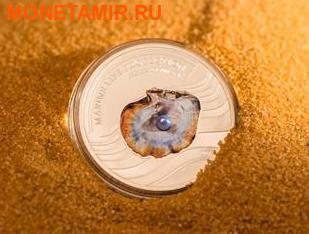 Палау 5 долларов 2013.Жемчужина - Секреты моря серия Защита морской жизни.Арт.000230743018/60 (фото, вид 1)