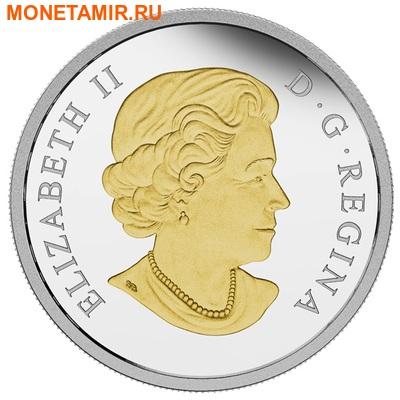 Канада 20 долларов 2015.Свадьба (два кольца). (фото, вид 1)