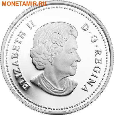Канада 20 долларов 2014 Озеро Верхнее Великие Озера (Canada 20C$ 2014 Lake Superior Great Lakes Silver Proof).Арт.000327945704/67 (фото, вид 1)