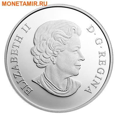 Канада 25 долларов 2014.Рысь (ультра-высокий рельеф). (фото, вид 1)