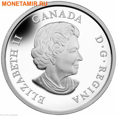 Канада 20 долларов 2014.Мамонт.Арт.000298048314/60 (фото, вид 1)