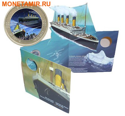 Канада 25 центов 2012.Титаник (Блистер). (фото, вид 3)