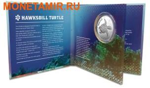 Ниуэ 2 доллара 2014.Черепаха Хоксбилла (блистер). (фото, вид 2)