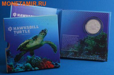 Ниуэ 2 доллара 2014.Черепаха Хоксбилла (блистер). (фото, вид 3)