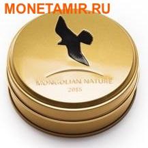 Монголия 500 тугриков 2015. Сокол – Балобан серия Монгольская природа (Силуэт).Арт.000438250225/60 (фото, вид 3)