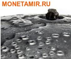 Ниуэ 1 доллар 2015.Метеорит Лунный.Солнечная система - Луна. (фото, вид 2)