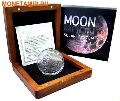 Ниуэ 1 доллар 2015.Метеорит Лунный.Солнечная система - Луна. (фото, вид 5)