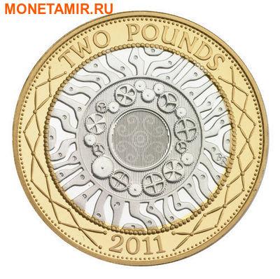 Великобритания 15,38 фунтов 2011.Эксклюзивный годовой набор 14 монет.(2011 UK Executive Proof Set in Presentation Box). (фото, вид 3)