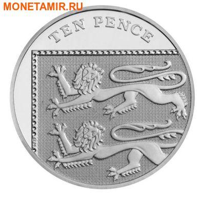 Великобритания 15,38 фунтов 2011.Эксклюзивный годовой набор 14 монет.(2011 UK Executive Proof Set in Presentation Box). (фото, вид 7)