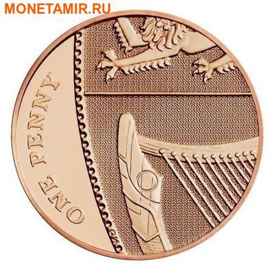 Великобритания 15,38 фунтов 2011.Эксклюзивный годовой набор 14 монет.(2011 UK Executive Proof Set in Presentation Box). (фото, вид 8)