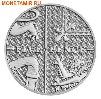 Великобритания 15,38 фунтов 2011.Эксклюзивный годовой набор 14 монет.(2011 UK Executive Proof Set in Presentation Box). (фото, вид 9)