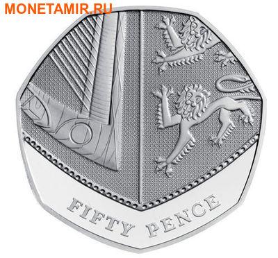 Великобритания 15,38 фунтов 2011.Эксклюзивный годовой набор 14 монет.(2011 UK Executive Proof Set in Presentation Box). (фото, вид 10)