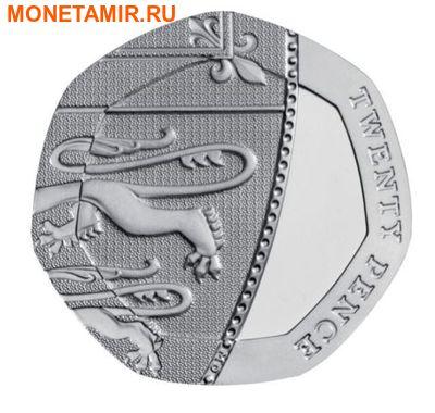 Великобритания 15,38 фунтов 2011.Эксклюзивный годовой набор 14 монет.(2011 UK Executive Proof Set in Presentation Box). (фото, вид 12)