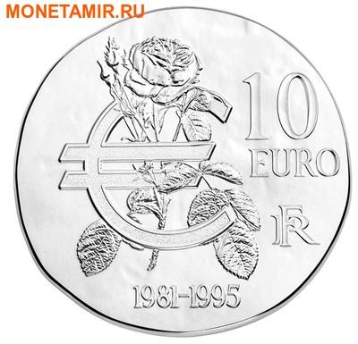 Франция 10 евро 2015.Франсуа Миттеран - 1500 лет французской истории.Арт.60 (фото, вид 1)