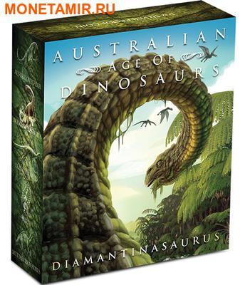 Австралия 1 доллар 2015.Динозавр – Диамантиназавр серия Австралийская эпоха динозавров.Арт.60 (фото, вид 3)