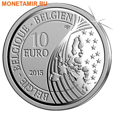 Бельгия 10 евро 2015.70 лет мира в Европе.Арт.000100050818/60 (фото, вид 1)