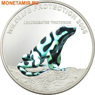 Либерия 3х10 долларов 2005.Тропические лягушки – Бриллианты джунглей.Арт.000188742454 (фото, вид 2)