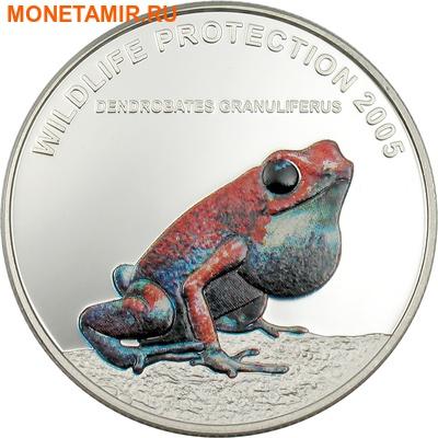 Либерия 3х10 долларов 2005.Тропические лягушки – Бриллианты джунглей.Арт.000188742454 (фото, вид 4)