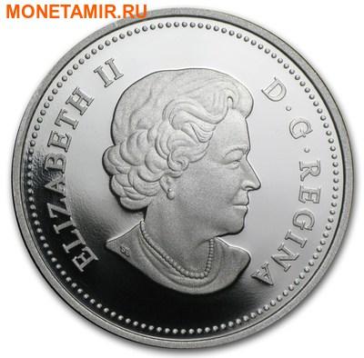 Канада 20 долларов 2015.Бобер за работой. (фото, вид 1)