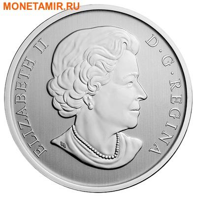 Канада 25 центов 2014.Красно-черная Пиранга.Арт.000172649444 (фото, вид 1)