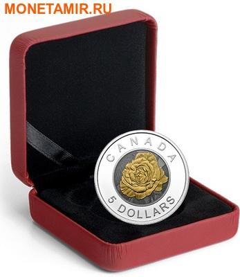 Канада 5 долларов 2014.Роза серия Цветы Канады (Ниобий).Арт.000429948269 (фото, вид 2)