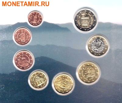 Сан-Марино 3,88 евро 2015. Годовой набор монет евро.(Буклет).Арт.60 (фото, вид 3)