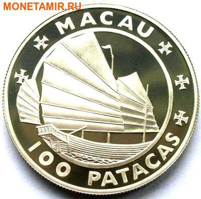 Макао 100 патак 1988.Гран-При Макао 1954-1988. (фото, вид 1)