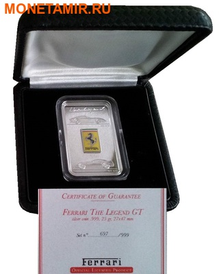 Острова Кука 5 долларов 2010.Легенда Феррари – GTO.Арт.000203833087 (фото, вид 4)