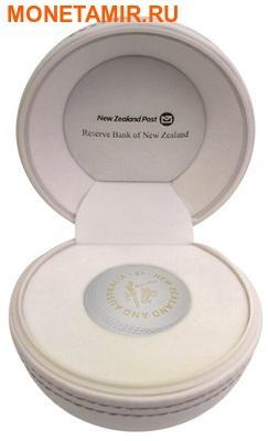 Новая Зеландия 1 доллар 2015.Крикет – Чемпионат Мира.Арт.000666350452/60 (фото, вид 2)