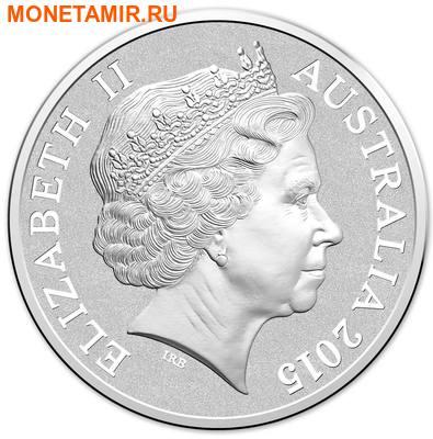 Австралия 5 долларов 2015.Маяк – Маккуори.(Блистер) (фото, вид 1)