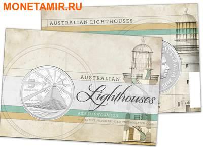 Австралия 5 долларов 2015.Маяк – Маккуори.(Блистер) (фото, вид 2)