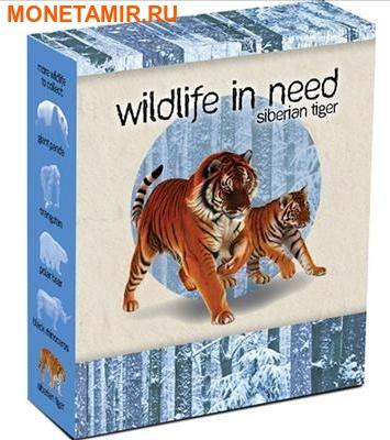 Тувалу 1 доллар 2012.Амурский тигр – Дикая природа в опасности.Арт.000246145541/60 (фото, вид 3)