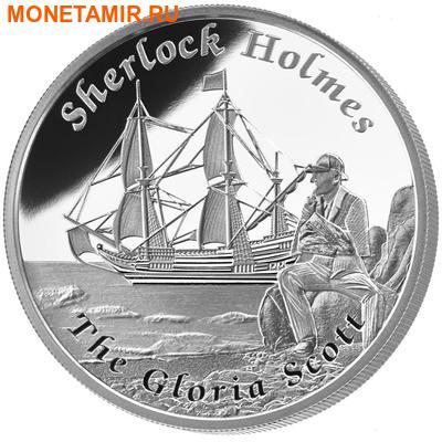 Тувалу 1 доллар 2014.Корабль – Глория Скотт (Gloria Scott) серия Знаменитые корабли, которые никогда не ходили в плавание.Арт.000329748672/60 (фото, вид 1)