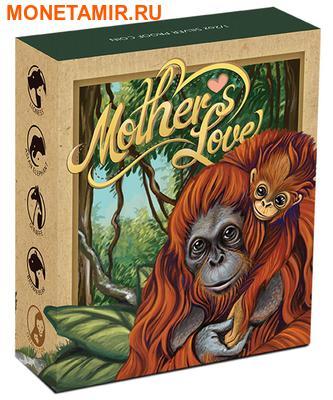 Тувалу 50 центов 2014.Орангутан серия Материнская любовь.Арт.000100050569/60 (фото, вид 3)