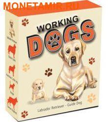 Тувалу 1 доллар 2010.Лабрадор-ретривер серия Служебные собаки.Арт.000579742202/60 (фото, вид 4)