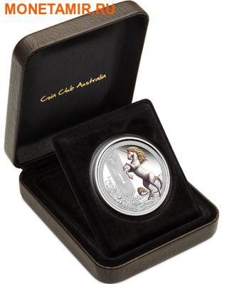 Тувалу 1 доллар 2013.Единорог серия Мифические существа.Арт.000382148675/60 (фото, вид 2)