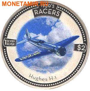 Острова Кука 5х2 доллара 2006.Скоростные самолеты 1930-х годов.Арт.000500046768/60 (фото, вид 5)